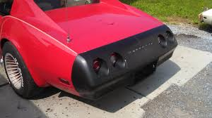 how to replace c3 corvette urethane bumpers