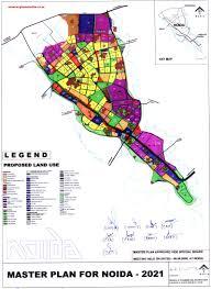 Noida Metro Route Map by Noida Master Development Plan 2021 Map Pdf Download Master Plans