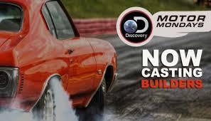 Seeking Tv Series Discovery S Motor Mondays Now Seeking Talented Auto Fabricators