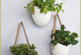 plant hanging wall planters indoor charm copper vertical wall