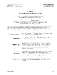 Professional Architect Resume Sample Enterprise Architect Resume Sample