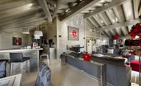 Ski Chalet Interior Luxury Ski Chalet In Courchevel France Home Design Garden