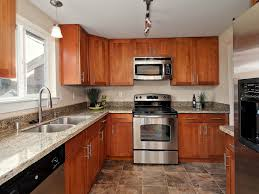 Material For Kitchen Cabinet White Spring Granite As Interior Material For Futuristic Kitchen