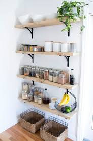 kitchen wall shelves ideas best 25 kitchen wall storage ideas on fruit storage