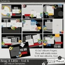 brag book photo album 4x6 something to brag about 4x6 mini album templates by chrissyw two