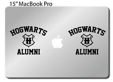 hogwarts alumni decal harry potter bumper sticker ebay