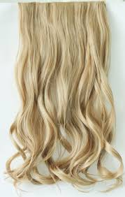 Long Blonde Wavy Hair Extensions by 20