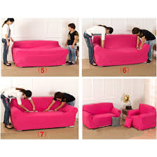 one piece stretch sofa slipcover us ship stretch chair sofa covers 1 2 3 seater protector couch cover