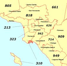 area code of california us us telephone area codes wiki