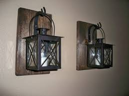 Iron Home Decor by Wrought Iron Sconces Wrought Iron Lantern Set Wallsconce Best