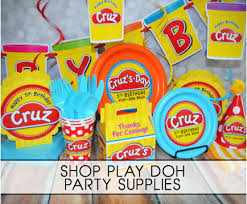 birthday party supplies play doh birthday party supplies