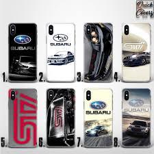 subaru subaru lebanon subaru impreza sti wrx thin uv case cover for iphone x ebay