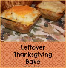 leftover thanksgiving bake no more turkey sandwiches