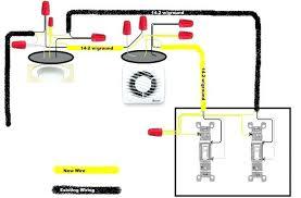 fan and light switch wiring wiring bathroom fan with light michaelfine me
