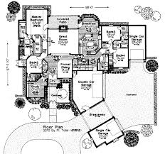 house plans with porte cochere house plans with porte cochere