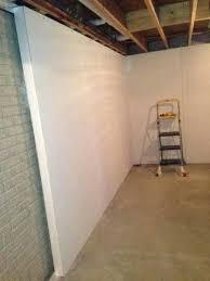 finished basement walls lofty how to finish basement walls