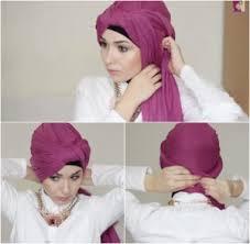 tutorial hijab nabiilabee tutorial hijab semi turban ala nabiilabee menggunakan scarf panjang