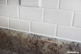 Caulking Kitchen Backsplash How To Caulk Like A Pro Tutorial How To Nest For Less