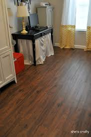 lowes cherry flooring she s crafty vinyl plank flooring aka
