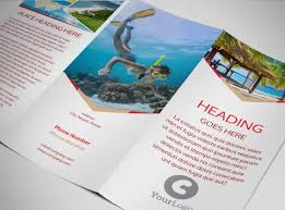 travel brochure template 3 fold amazing travel brochure templates