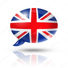 british flag speech bubble u2014 stock photo daboost 13461402