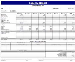 Monthly Expense Report Template Excel Monthly Income Expense Report Template Vlcpeque