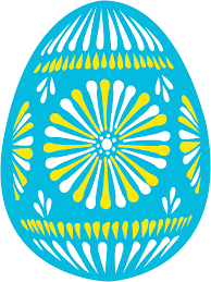 blue easter eggs clipart easter egg blue