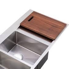 Kitchen Sinks With Drainboard by Megabai Bai 1235 48