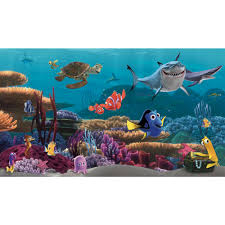 28 nemo wall mural finding nemo pre pasted wall mural nemo wall mural walt disney kids ii finding nemo mural wallpaper