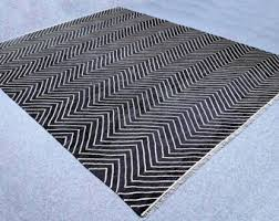 Grey Dhurrie Rug Etsy Your Place To Buy And Sell All Things Handmade