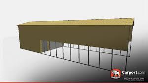 rv storage building 18 u0027 x 61 u0027 x 14 u0027 shop metal buildings online