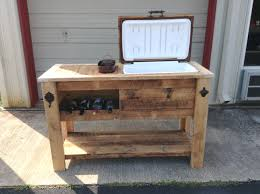 diy patio cooler ice chest project cool plans renate
