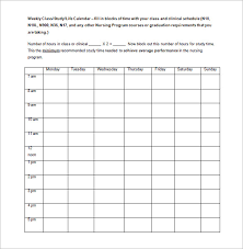 class schedule template 33 free word excel documents download