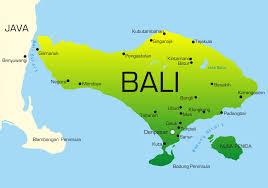 Bali Indonesia Map Local Dmc In Bali Kelana Destination Management Company