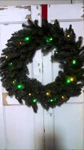 bethlehem lights 30 battery operated color wreath