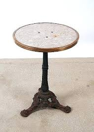 antique marble bistro table french cafe table cafe table and chairs magnificent large bistro