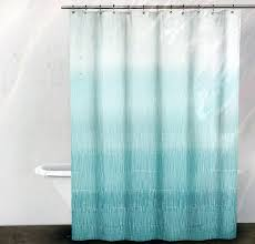 amazon com dkny fabric shower curtain blue and turquoise line