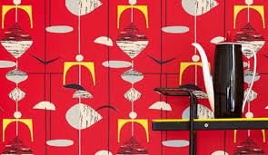 50s Design 50s Wallpaper By Sanderson U2013 Design Sponge