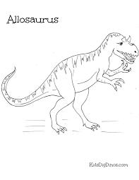 allosaurus kids dig dinos