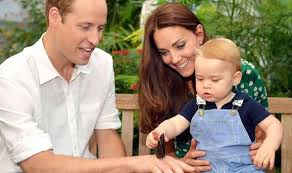 kate middleton prince william and prince george u0027to spend