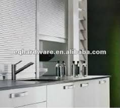 Fancy Pantry Kitchen Aluminum Indoor Roller Door Buy Indoor - Kitchen cabinet roller doors