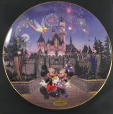 40th anniversary plates disney s 40th anniversary sleeping beauty s castle bradford