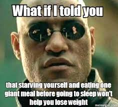 Losing Weight Meme - for my gf and others who are trying to lose weight meme guy