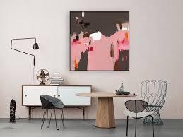 Ma Deco Comme Les Grands Vente Tableau Abstrait Moderne Acheter L U0027art Abstrait à Petit Prix