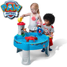 fisher price step 2 art desk paw patrol water table kids sand water play step2