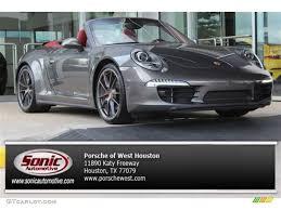 porsche cabriolet 2014 2014 agate grey metallic porsche 911 carrera 4s cabriolet