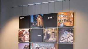 display art gallery artwork display and hanging systems contempo system