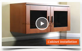 wall mounted av cabinet how to mount av cabinet to wall video library salamander designs