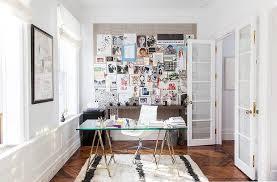 Small Desk For Home Small Home Office Design Ideas Glass Desk Hello Lovely Living