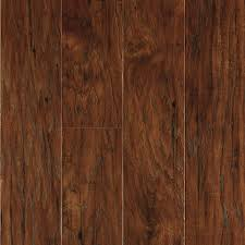 Dark Laminate Flooring Cheap Shop Allen Roth 4 85 In W X 3 93 Ft L Toasted Chestnut